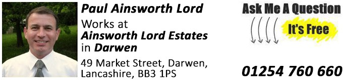 Darwen, Property Expert, Paul Ainsworth Lord, Estate Agents, Ainsworth Lord Estates
